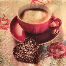 SALE!  20 paper napkins Serviette craft decoupage collection Coffee Java Cookies