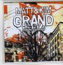 (CP926) Matt & Kim, Grand sampler - 2009 DJ CD