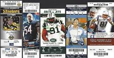 2012 NFL COLTS UNUSED FOOTBALL TICKETS HOME & AWAY NEAT COMPLETE SET 18/20 -LUCK