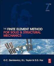 The Finite Element Method for Solid and Structural Mechanics by O. C....
