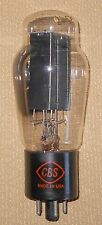 CBS 5U4G Rectifier Tube Black Plates Side D Getter Tested