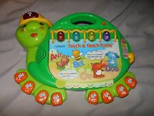 VTECH TOUCH & TEACH TURTLE KIDS LEARNING TOY COUNTING ALPHABET TEACHING BOOK