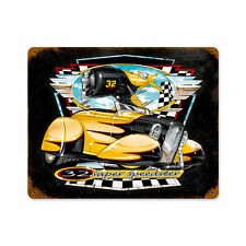 32 Super Speedster bee gee roadster Scott carter retro sign chapa escudo Escudo