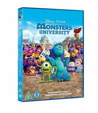 MONSTERS UNIVERSITY DVD DISNEY PIXAR INC SEQUEL NEW R2
