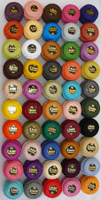 50 Anchor Crochet Cotton Thread Balls *Best 50 MIX Colours*