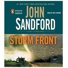 STORM FRONT unabridged audio book on CD by JOHN SANDFORD