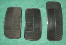 Fiat 131S / CL, SuperMirafiori, brake clutch & accelerator pedal pads (set of 3)