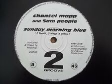 "CHANTEL MAPP AND 5AM PEOPLE - SUNDAY MORNING BLUE 12"" RECORD / VINYL - 2G008"