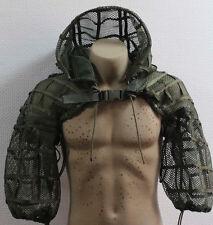 Russian Spetsnaz Milspec Mesh Disguise Base Sniper Hood OD Green