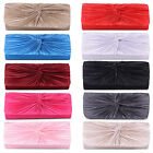 NEW LADIES CLASSIC EVENING WEDDING BRIDAL PARTY SATIN BAG CROSS BODY CHAIN STRAP