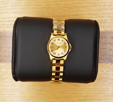 Genuine Marc Jacobs Women's MBM3199 'Henry Dinky' Dial Gold-tone Ladies Watch