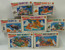 THUNDERBIRDS : SET OF 7 CD BOYS MODEL KITS MADE BY IMAI
