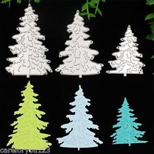 Christmas Trees Cutting Dies Stencil Scrapbooking Album Card Embossing DIY Craft