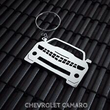 Chevrolet Camaro Stainless Steel Keychain
