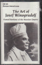 Josef Winogradoff - The Art of... (Cassette, 1997, CM-593) NEW Cantor