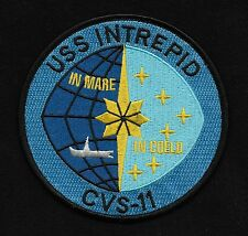 USS INTREPID CVS-11 AIRCRAFT CARRIER MILITARY PATCH - The Fighting I