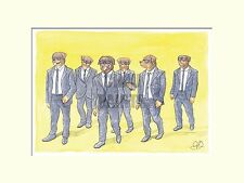 "Chau Paints ""Reservoir Dogs""  A4 30x40cm Mounted Limited Edition Print"