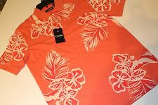 Chaps by Ralph Lauren Shirt Top NEW NWT Men's Size L Large Tropical Polo Leaves