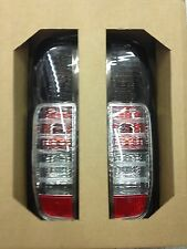 FITT TAIL LIGHT REAR LAMP BLACK SMOKE LENS NISSAN FRONTIER NAVARA D40 2007-2014