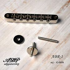 CHEVALET style CLASSIC ABR-1 Tune-O-Matic M4 Post+Thumbwheel GIBSON LP SG Bridge