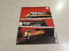 Lionel Trains 0/0 27 Collectors Series 1984 Catalog  FREE SHIPPING