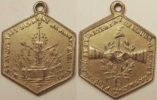 Champagne, Constitution, insigne de la Fédération de l'Aube à Troyes, 1790 !!
