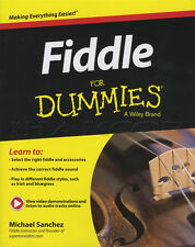Violín for Dummies libro de partituras con audio y video aprender a tocar violín