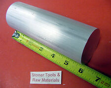 "1-3/8"" ALUMINUM ROUND ROD 6"" LONG 6061 T6511 1.375"" Diameter SOLID BAR STOCK"