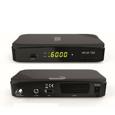 Opticum HD AX 150 HDTV satellite Receiver DVB-S2 1080p 12-230V Camping USB 2.0