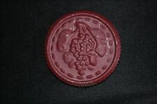 ancienne plaque cachet taxe redevance pour tonneau vin XX ème