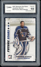 2007 Jonathan Bernier ITG Between the Pipes  rookie Gem Mint 10