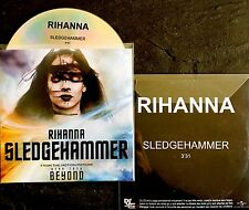 RIHANNA French Rare CD Single SLEDGEHAMMER / Star Trek Film ��