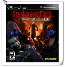 PS3 Resident Evil: Operation Raccoon City  Sony Capcom Action Adventure Games