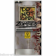 5ft Halloween Horror ZOMBIE Laboratory Party Door Poster Banner Decoration