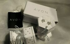 New By Avon Adelyn Pierced Earrings Delightful Star Diamanté Earring Cracker Box