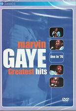 MARVIN GAYE greatest hits  live in 1976 DVD NEU OVP/Sealed