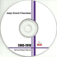 2005 - 2010 Jeep Grand Cherokee Service Repair Manual CD