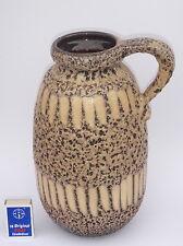 Scheurich 484-27 XL jarrón de cerámica-Mid century West German Pottery Fat lava Jug
