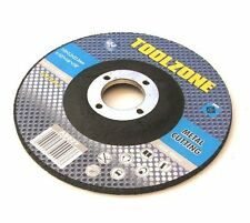 "4.5"" / 115mm Metal Cutting Disc Depressed Centre Toolzone AB027 Pack of 1"