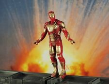 Marvel Superhero Figure Iron Man Mark XLII AVENGERS Toy Model Cake Topper K787