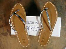 Sandales Tongs K JACQUES T 40/41  Modele Confettis argenté multicolor  NEUF