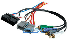 PREMIUM SOUND SYSTEM W AMP INTEGRATION CAR STEREO RADIO FACTORY WIRING HARNESS