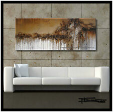 ABSTRACT PAINTING CANVAS WALL ART  Listed by Artist, US, Signed, Large ELOISExxx