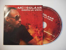 Mc SOLAAR : HASTA LA VISTA [ CD SINGLE RTL PORT GRATUIT ]
