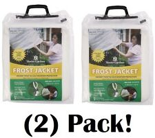 (2) ea MG 1010 5' ft x 5' ft Plant Frost Blanket Freeze Protection Jackets