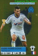 240 GIGNAC TOP JOUEUR OLYMPIQUE MARSEILLE OM STICKER FOOT 2014-2015 PANINI