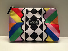 Brand New ! CLINIQUE Lakwena in Multi-Color Cosmetic Makeup Bag