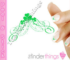 St. Patrick's Day Shamrock Clover Tip Nail Art Decal Sticker Set SHM104