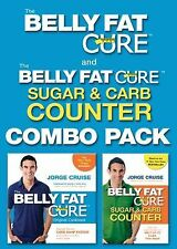 Belly Fat Cure Combo Pack JORGE CRUISE Belly Fat Cure / Sugar and Carb Counter