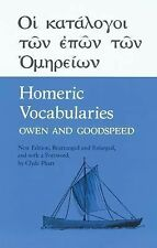 Homeric Vocabularies : Greek and English Word-Lists for the Study of Homer by...
